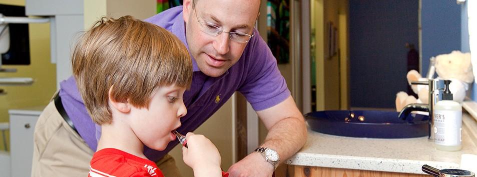 Brushing Instructions - The Smile Spot Children's Dentistry
