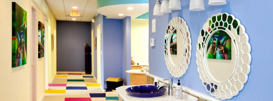 Teeth Brushing Station